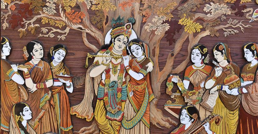 चीरहरण लीला और वरदान प्राप्ति…..अरुणोदय की बेला में प्रतिदिन एक साथ भगवान् के गुण को गाती हुई गोपियों का समूह श्री यमुनाजी में स्नान करने गयी.