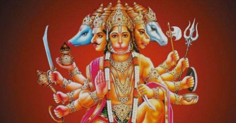 हनुमानजी के 12 नाम, जिनके द्वारा हनुमान जी की  स्तुति की जाती है।