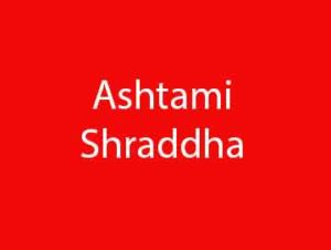 Ashtami Shraddha
