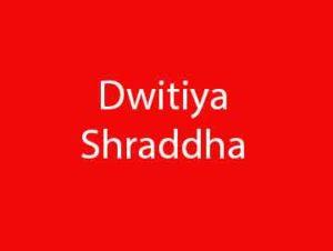 Dwitiya Shraddha