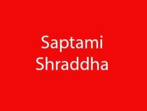 Saptami Shraddha