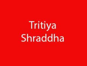 Tritiya Shraddha